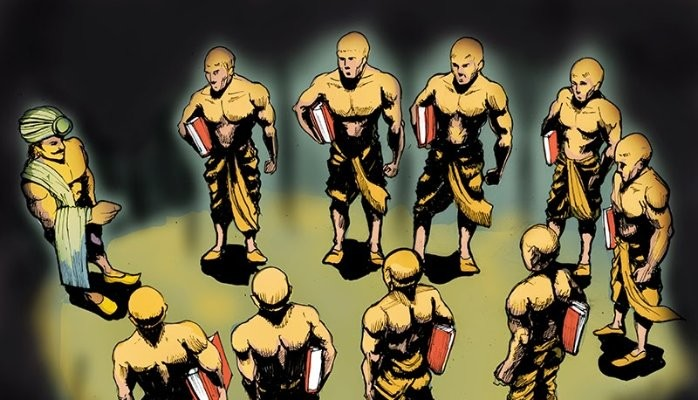 The mystery of nine unknown men of king Ashoka