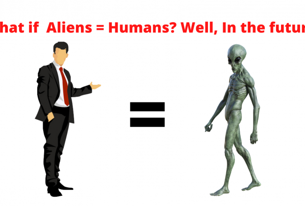 What if Aliens = Humans? Well, In the future